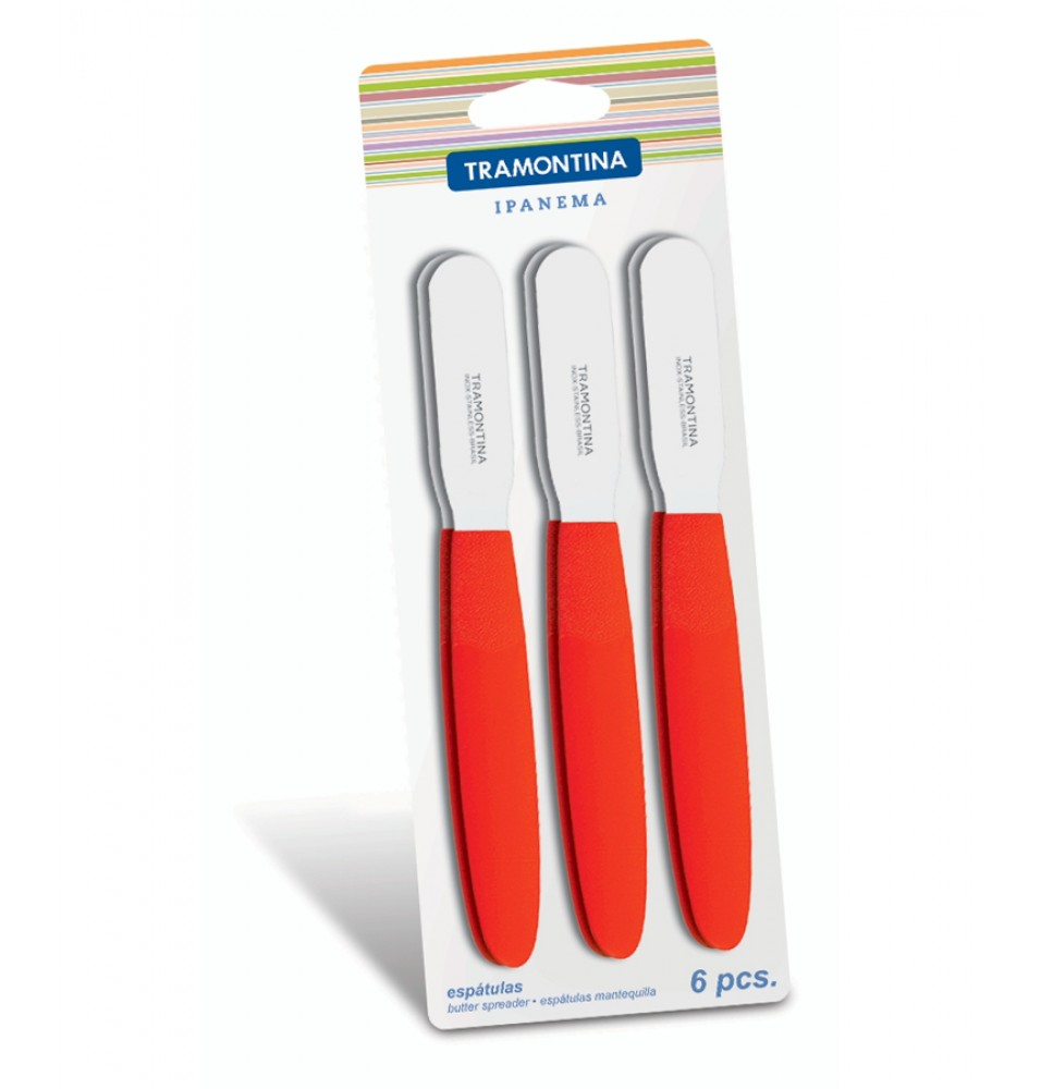 Set 6 spatule gama IPANEMA pentru intins unt