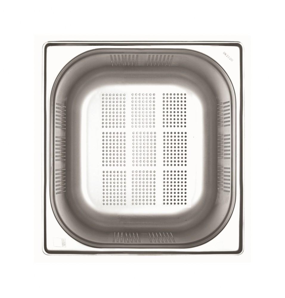 Cuva GN1/2 H100 inox perforata