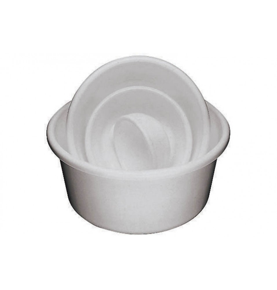 Castron polipropilena conic capacitate 2,8 litri