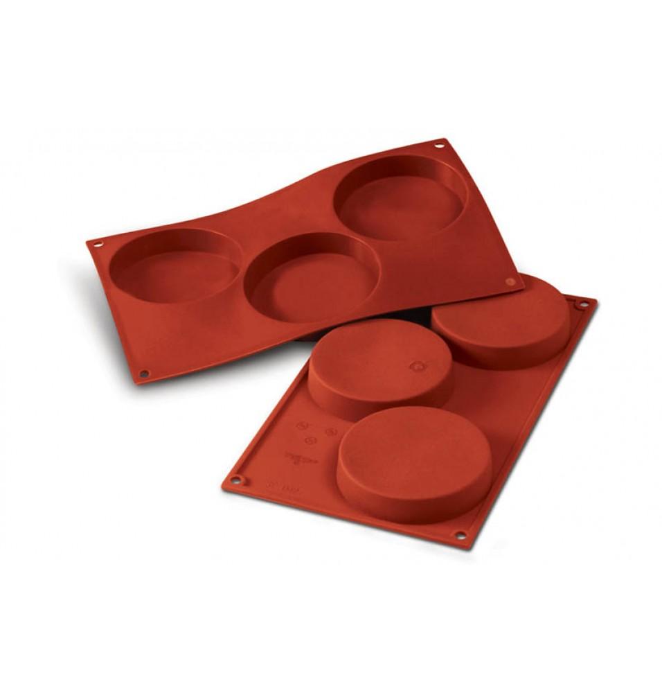 Forma din silicon pentru 3 prajituri Sponge Base cu diametrul de 103mm