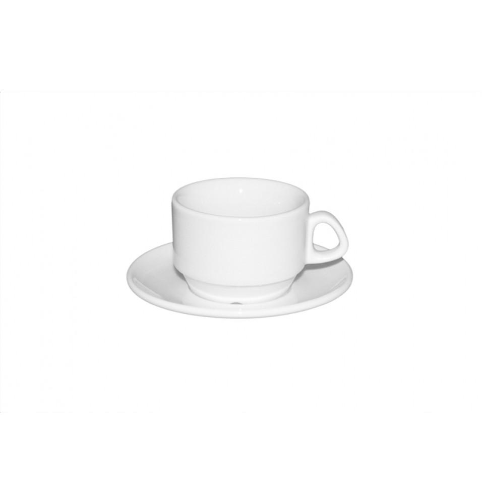 Ceasca cafea si farfurie