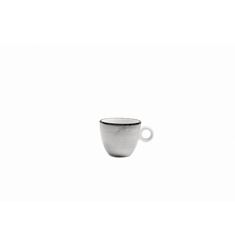 Ceasca cafea 90ml culoare gri linia Pure